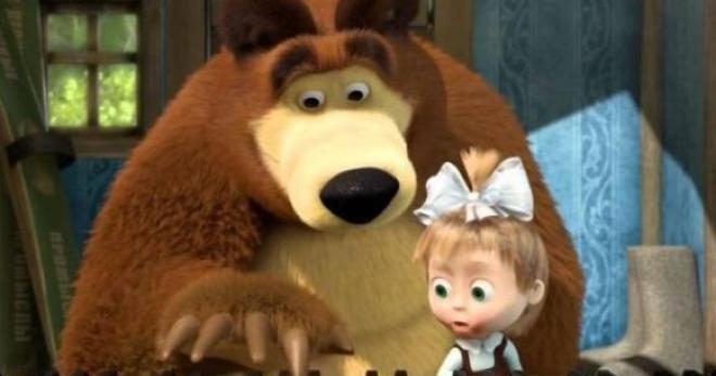 Masha e orso la serie animata russa che sta conquistando
