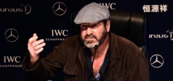 Eric Cantona w Szanghaju.