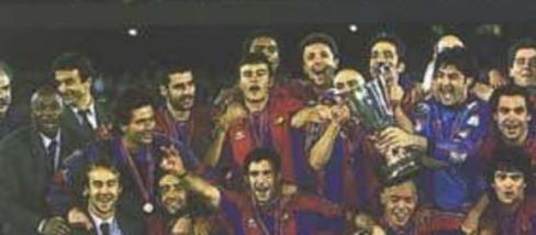 A mai négy edző mind ott volt a 96-97-es Barcában