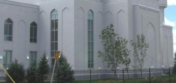 L'une des nombreuses mosquées de Calgary.