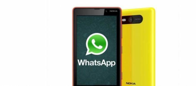 WhatsApp para WIndows Phone.