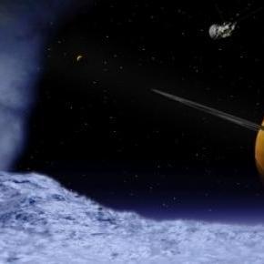Encelado es una luna del planeta Saturno