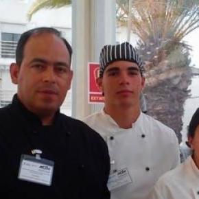 Ricky Bernardo - formador e Pedro, Adriana e André