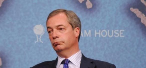 Nigel Farage, leader of the UKIP