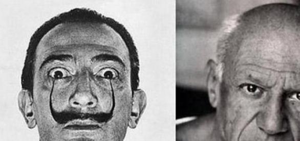 Salvador Dalí és Pablo Picasso