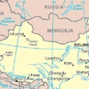 Chongqing de lângă Nanqing, în nord-estul Chinei