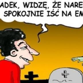Prosto z miejsca pracy na cmentarz