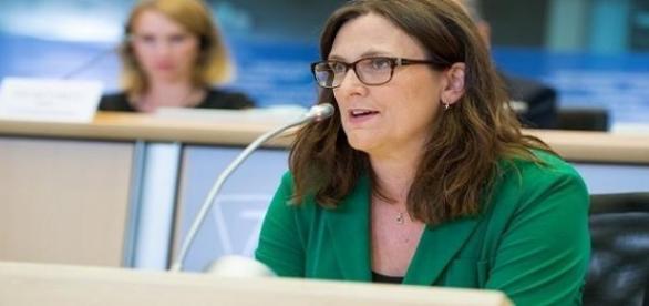 Cecilia Malmström, komisarz UE ds. handlu