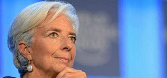 Christine Lagarde praised the UK economy