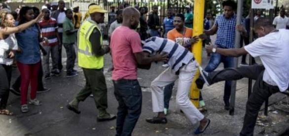 Les attaques xénophobes s'intensifient à Durban.