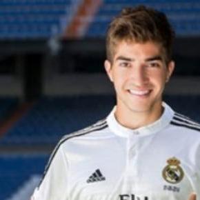 Lucas Silva no Real Madrid.