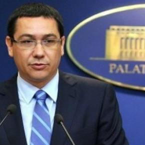 Victor Ponta premierul Romaniei