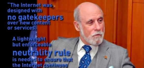 Founding father of the internet favors its freedom