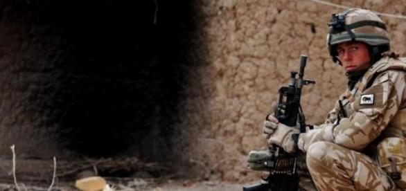 Lupte in Afganistan cu tenta terorista.