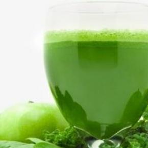 A zöld proteinek látványa is üdítő