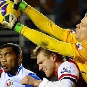 Szczęsny nie zabłysnął w półfinale FA Cup.