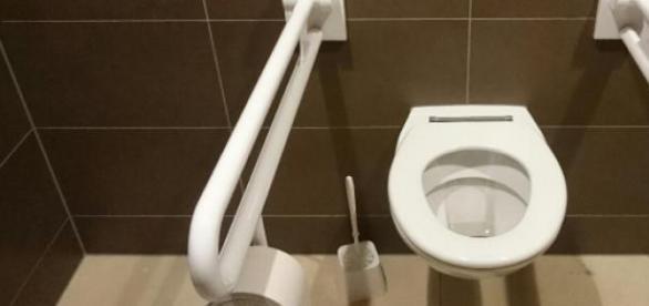 von wegen Vandalismus: ungenutzte WC, alle wie neu