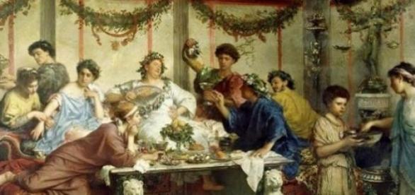 Római ünnepség (Roberto Bombipiani)
