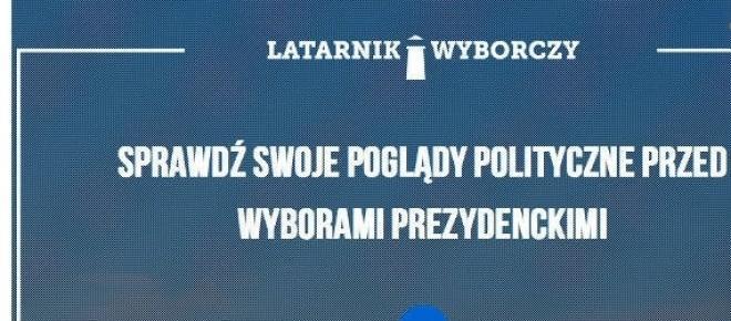 Aplikacja Latarnik Wyborczy 2015. screen: latarnikwyborczy.pl