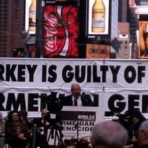 Commémorations du génocide arménien -New York
