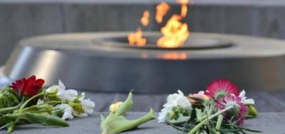 En Arménie, l'heure est à la commémoration.