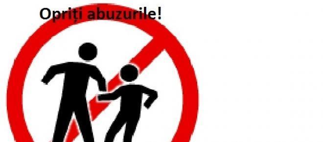 Opriți maltratarea și abuzarea copiilor