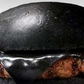 Egy hamisítatlan fekete ízű hamburger