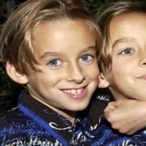 Sawyer Sweeten mit seinem Zwillingsbruder.