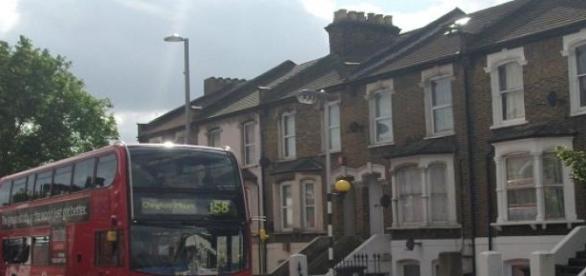 Egy átlagos utca képe Londonban