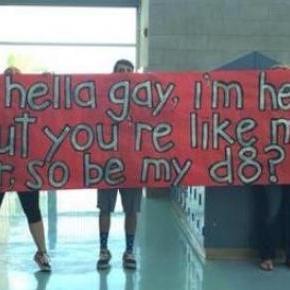 O cartaz com que Jacob convidou o amigo Anthony