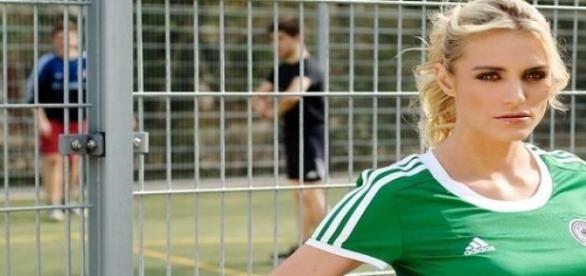 Anna Kraft im Fußball-EM-Fieber