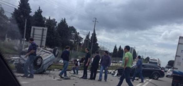 Colisão frontal em Leiria faz dois mortos