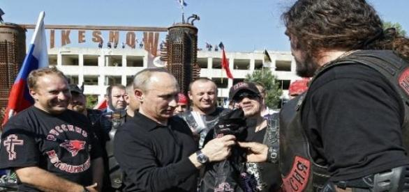 President Putin and the Night Wolves