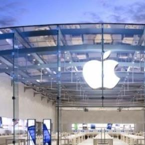 Customer visits to Apple stores increased 22%.