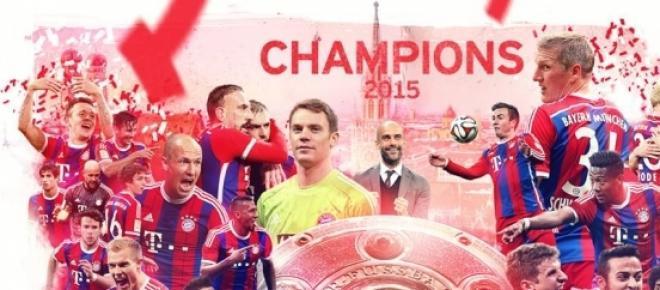 25. alkalommal német bajnok a Bayern München