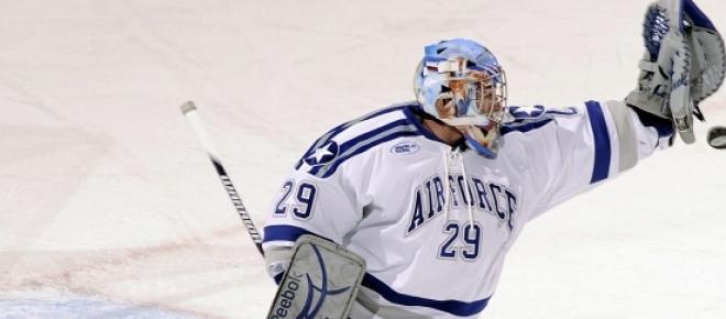 Eishockey Goalie - noch wichtiger als der Mann im Fußballtor.