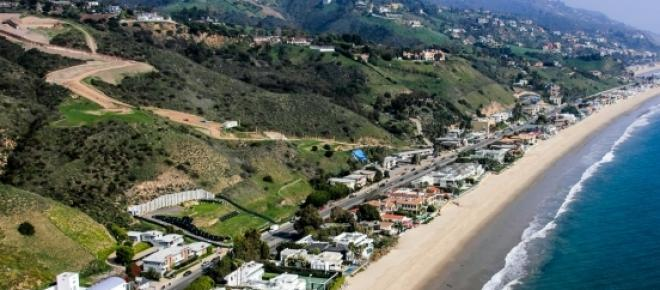 Carbon Beach is an exclusive area in Malibu.