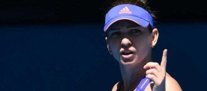 Simona Halep dupa infrangerea cu Serena