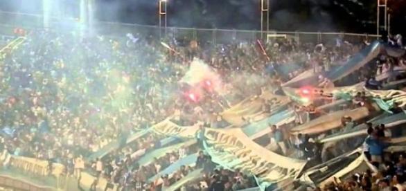 Hinchada de Racing Club de Avellaneda