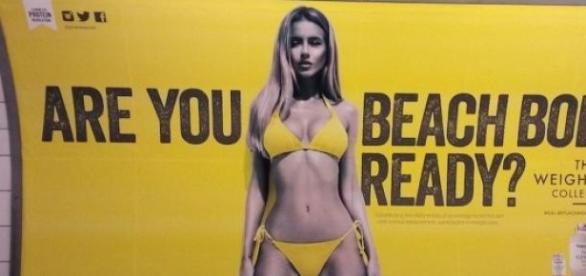 La publicité a provoqué des réactions à Londres.