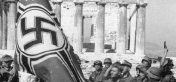 Die deutsche Besetzung Griechenlands begann 1941