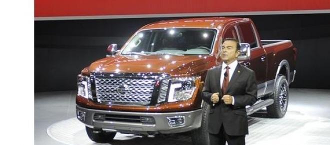 Seful executiv  Nissan la Auto Show - New York