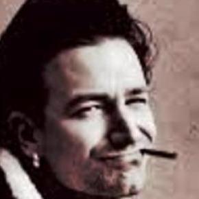 Bono - lider zespołu U2, tekściarz