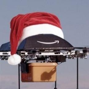 Az Amazon drón munka közben
