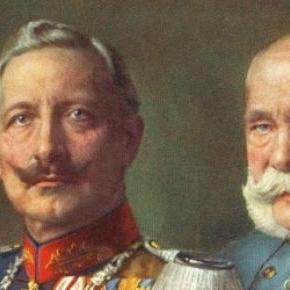 Két darab pórul járt császár, egy képen