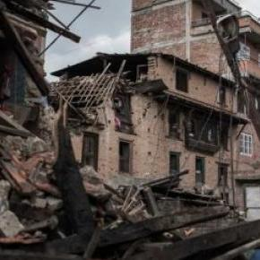 AFP/Philippe Lopez Séisme au Népal