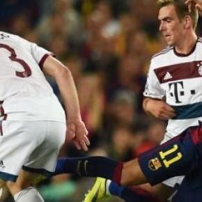 Starcie Bayern - Barcelona.