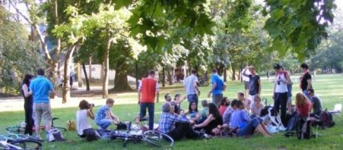 Vegán piknik, Budapesten.