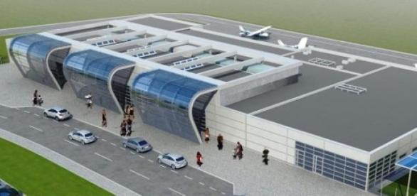 wizualizacja - Radom lotnisko