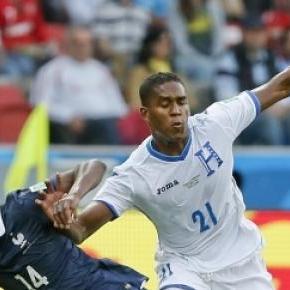 Beckeles no Mundial contra a França